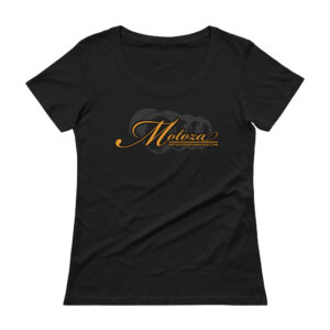 Motoza Women's Scoopneck T-Shirt (Black)