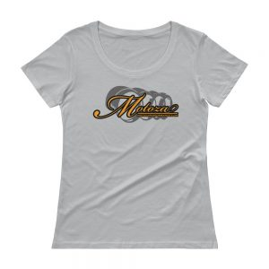 Motoza Women's Scoopneck T-Shirt (Silver)