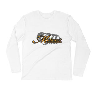 Motoza Long Sleeve Fitted Crew Shirt (White)