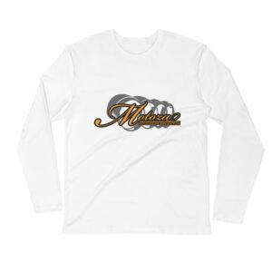 Motoza Long Sleeve Fitted Crew Shirt (White)