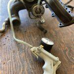 Vacuum pump testing of a turbo wastegate